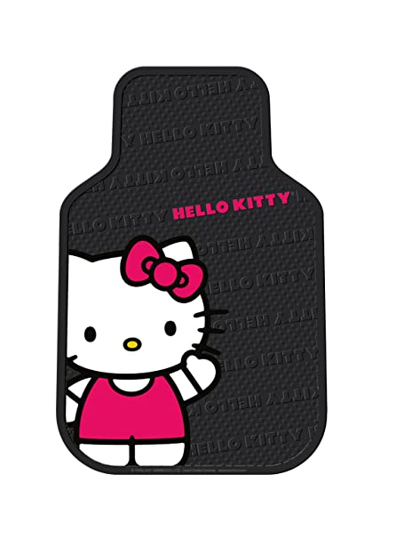7be23e25c Amazon.com: Plasticolor 001463R01 'Hello Kitty' Front Floor Mat Set:  Automotive