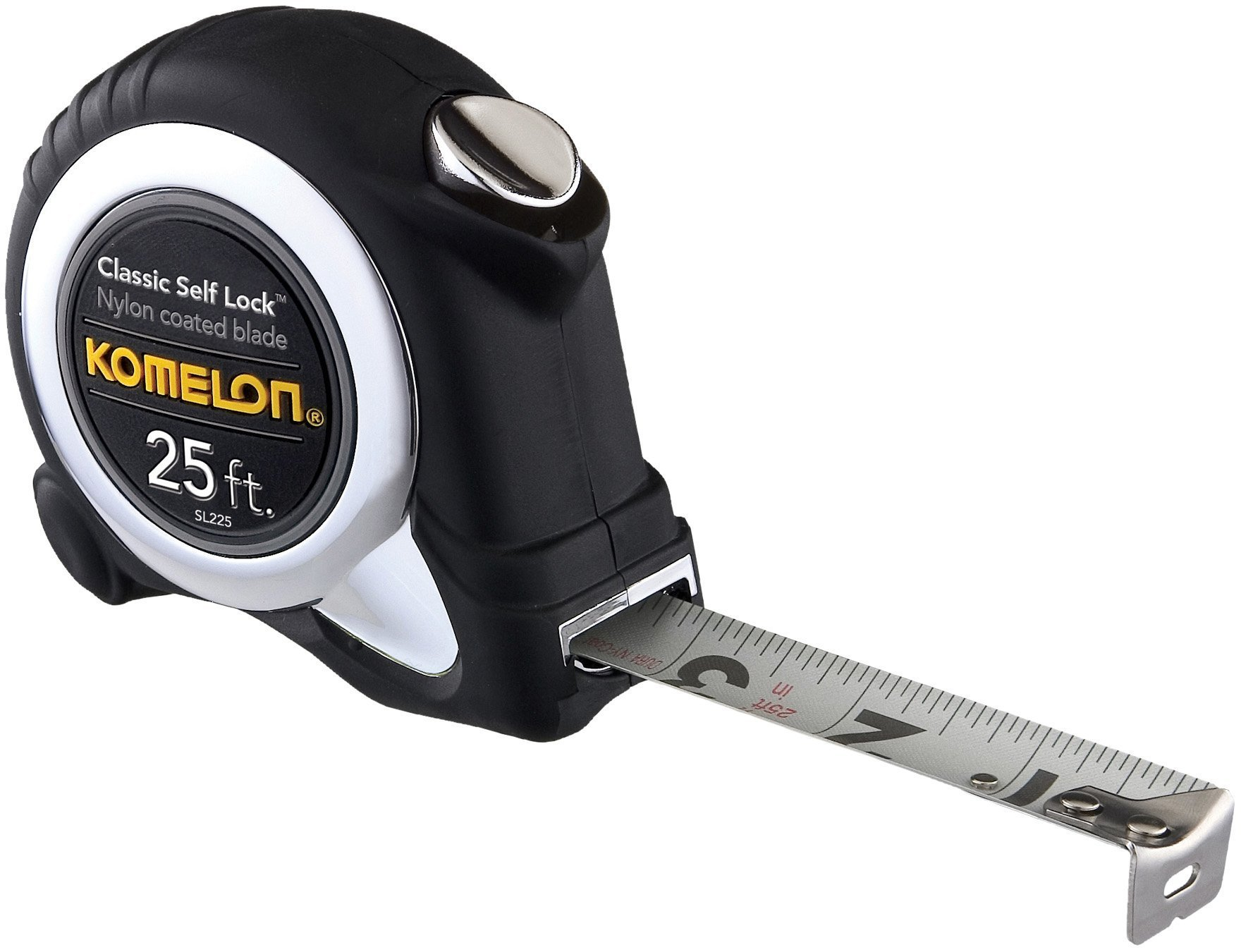 Komelon SL225 Classic Self-Lock 25-Foot Power Measuring Tape