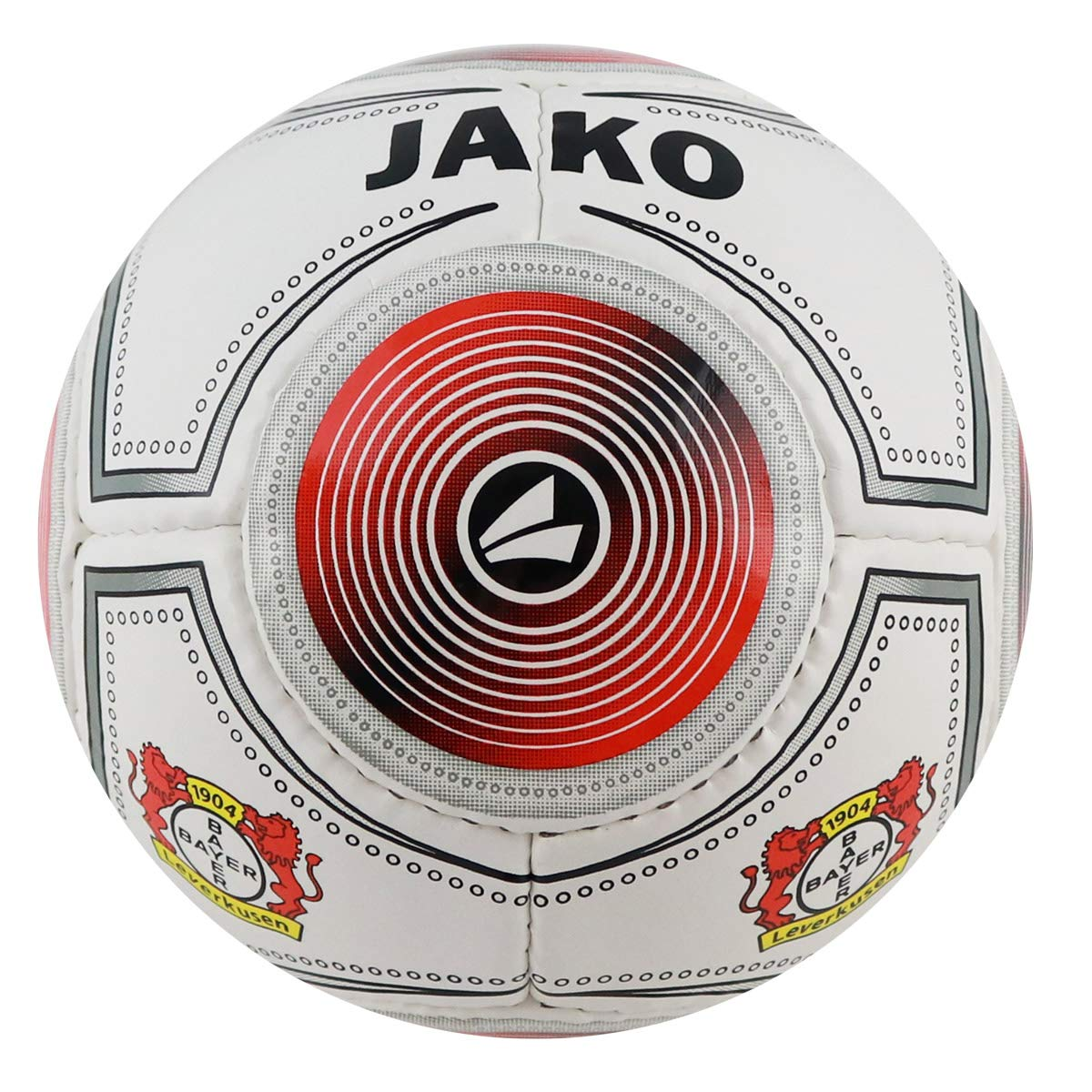 JAKO (Miniball Bayer 04 Leverkusen-Balón, Unisex Adulto, Blanco ...