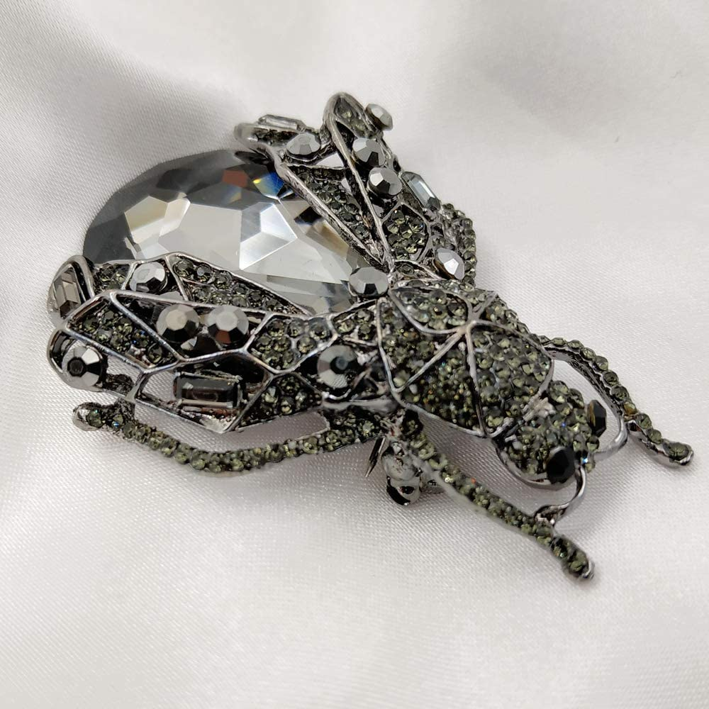 Fashion Cicada Corsage New Brooch Jewelry Clothing Accessories Pin Luxury