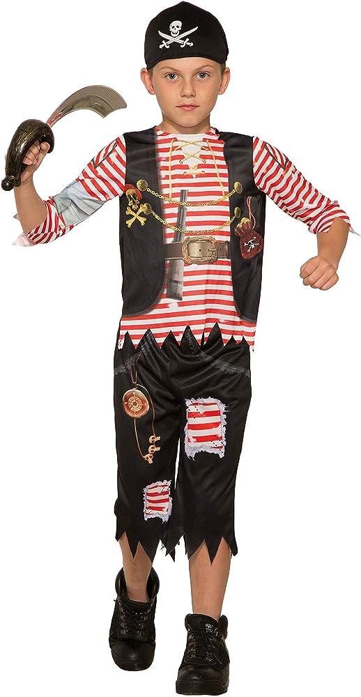 Forum Novelties disfraz de pirata para niños - Blanco - Small ...