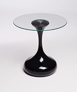 Whatsize Enterprise Designer Hour Glass Round Side Table, End Table, Lamp  Table (