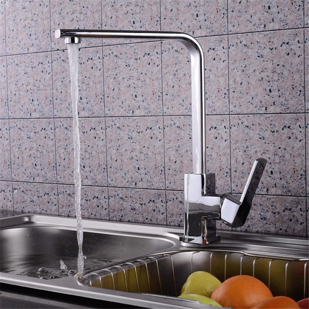 Kitchen tap Water Heating Brass Body hot and Cold Sink Faucet