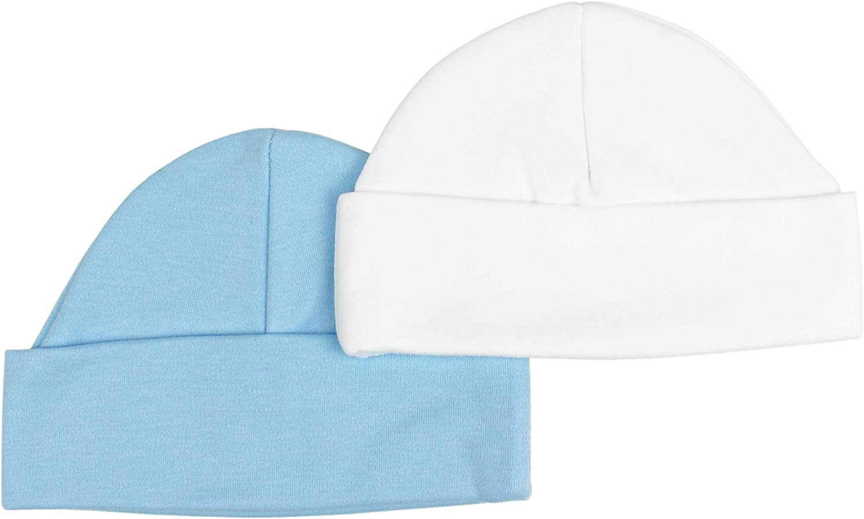TeddyTs Baby Super Soft Cotton Sleep Hat Set of 2