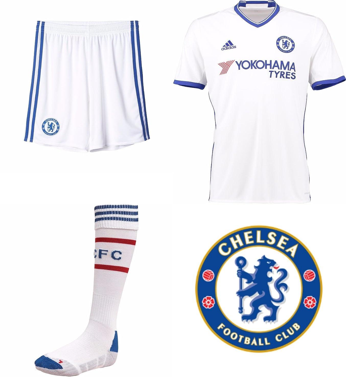 info for 4a95b 084e2 Chelsea FC 3rd Football Kit Short Sleeve Shirt Shorts ...