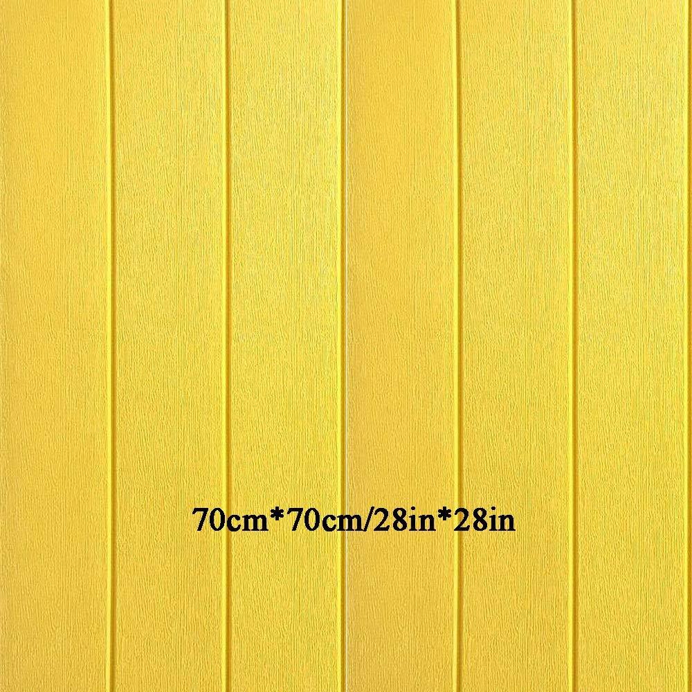 ZCF Mur de Papier 3D en Bois st/ér/éo fix/é /à la t/él/évision Fond Jupe Papier Peint Salon Papier Peint Mur /étanche d/écor/é Chambre /à Coucher Papier Peint , Papier de Contact Bois Couleur : E