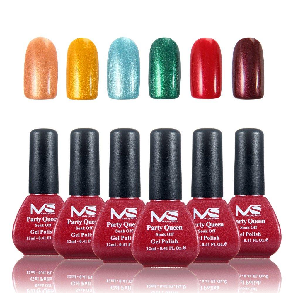Amazon.com : MelodySusie Durable Gel Nail Polish - Party Queen 1 ...