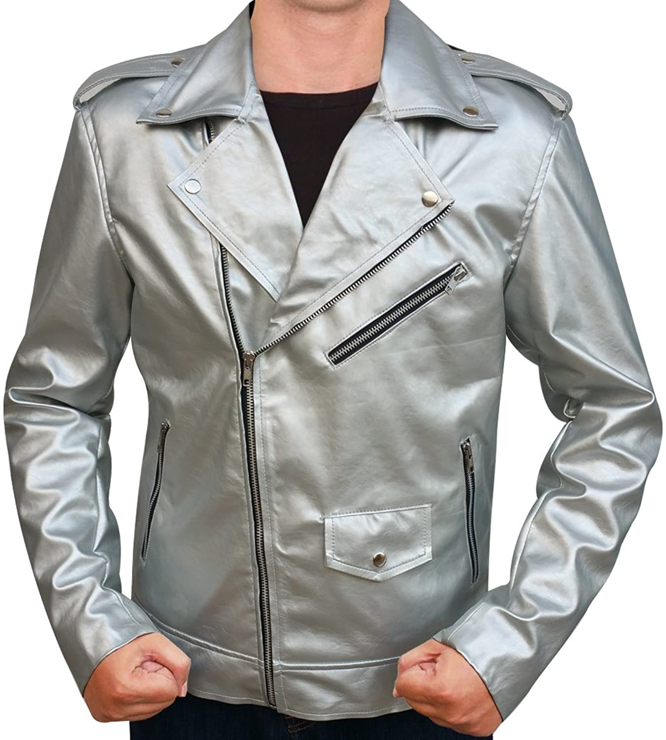 The Avengers: Age of Ultron Men's Quicksilver Hero Jacket - DeluxeAdultCostumes.com