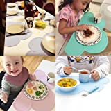 Silicone Kids Placemat - Reusable Travel Waterproof