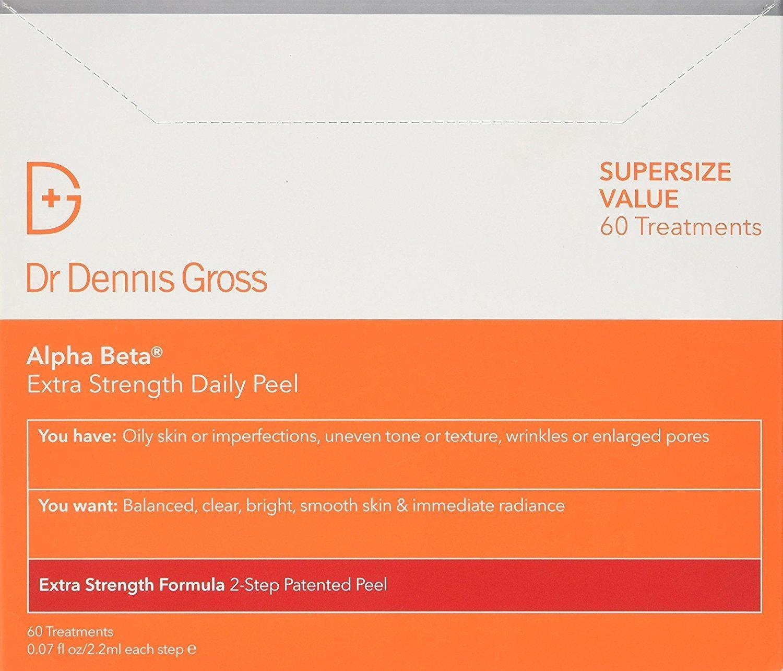 Dr. Dennis Gross Skincare Alpha Beta Extra Strength Daily Peel   60 Treatments