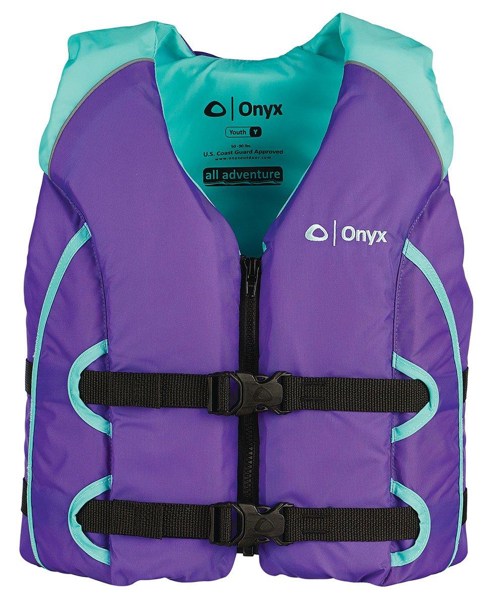 Onyx All Adventure Youth Vest, Purple