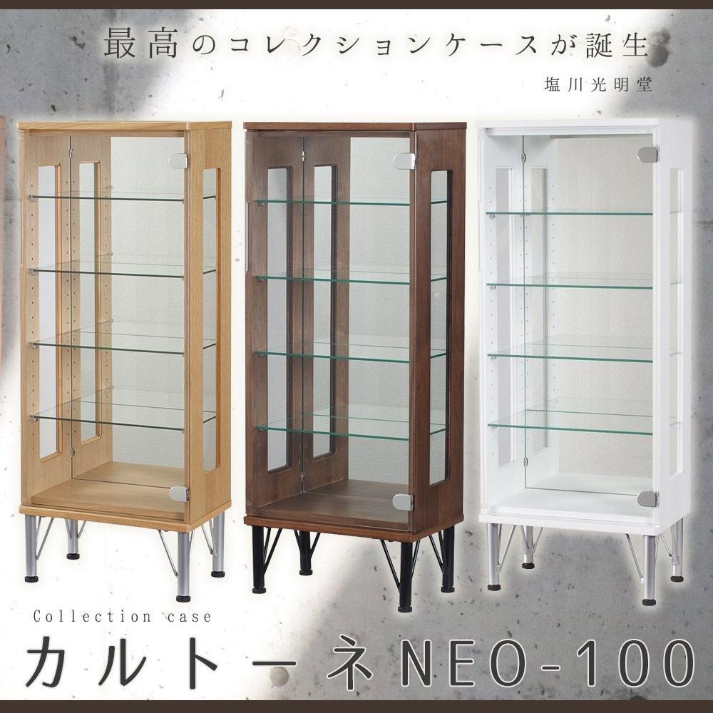 日用品 その他インテリア 関連商品 コレクションケース NEO-100 NAナチュラル B076B749JN