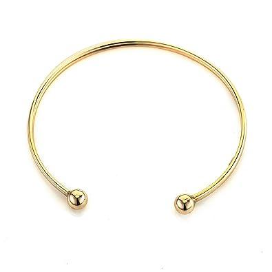 eff51ce61 ❤Perfect Valentines Gift ❤ Gold 9ct Torque Bangle Bracelet 2.71gr:  Amazon.co.uk: Jewellery