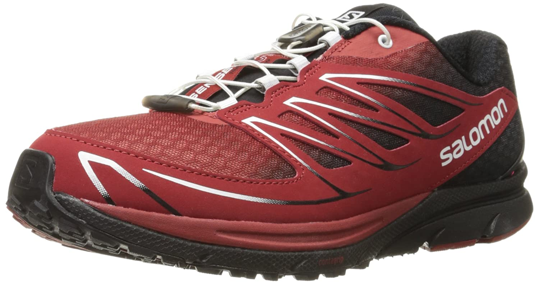 size 40 f96cf bd259 Salomon Sense Mantra 3 Mesh Trail Running Shoes, Men's  (Aluminium/Black/Solar Orange)