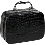 bjduck99 Beauty Makeup Cosmetics Zipper Organizer Box Travel Toiletry Case Storage Bag
