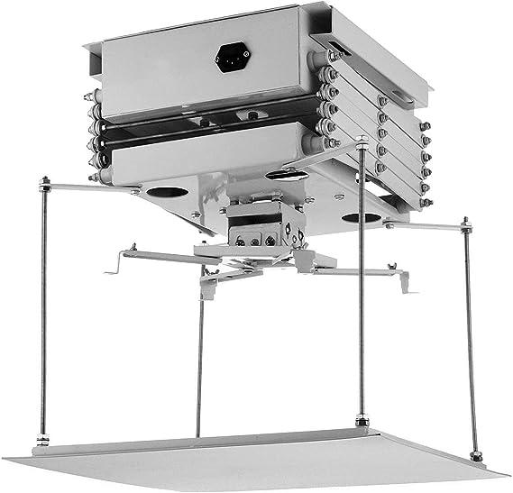 Bisujerro 1M Soporte de Proyector para Techo 220V Soporte ...