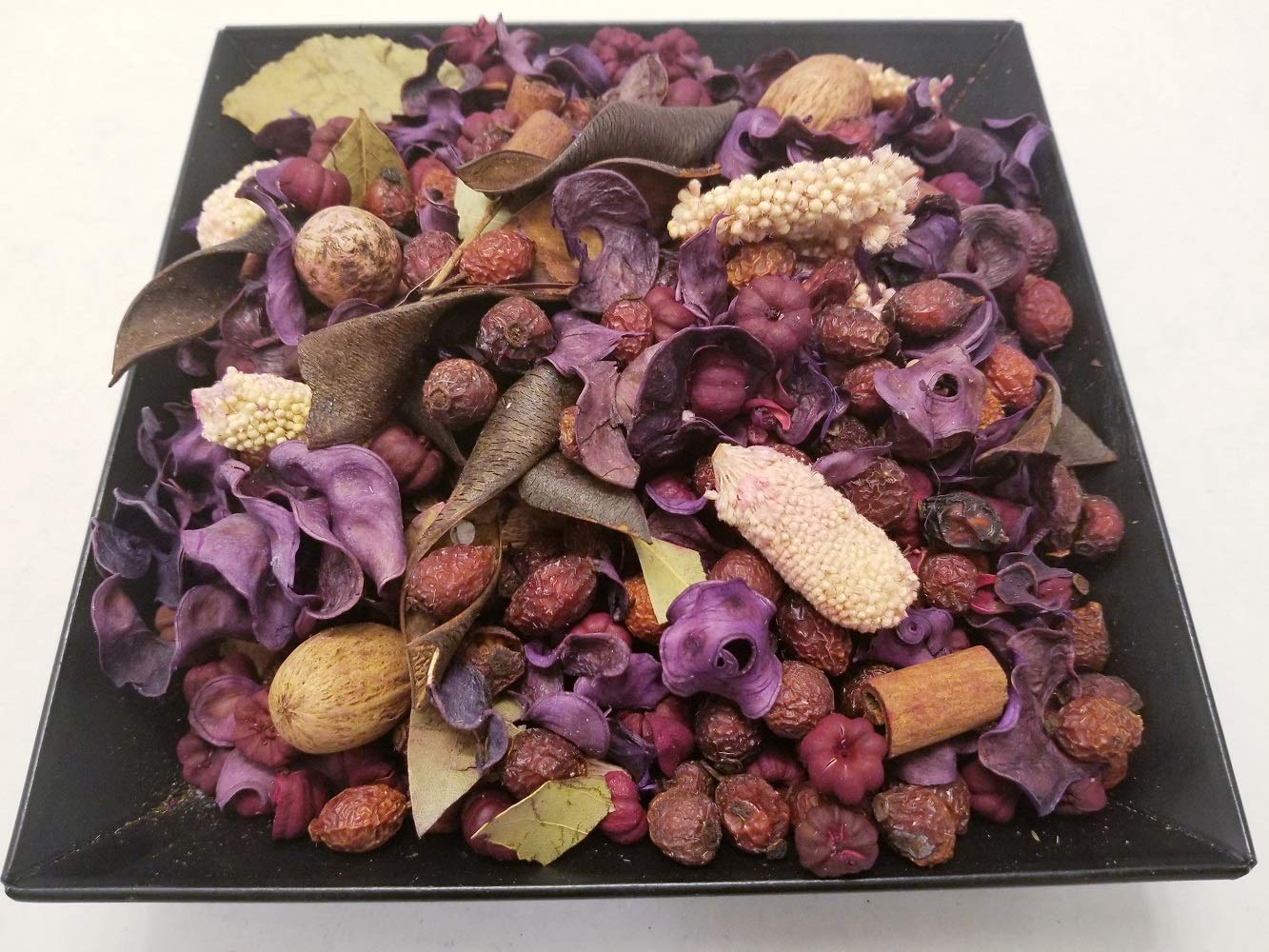Nature's Lot (Lavender Handmade in Lancaster County PA. Dried Flowers and Beautiful Botanicals, 28-32 oz by Volume by Nature's Lot (Image #1)