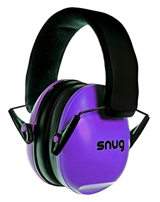Snug Safe n Sound Kids Earmuffs / Hearing Protectors – Adjustable Headband Ear Defenders For Children and Adults