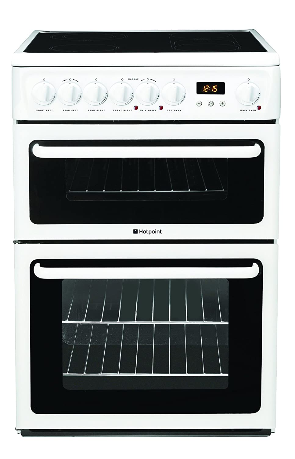 Hotpoint HAE60PS Freestanding Electric Cooker - White: Amazon.co ...