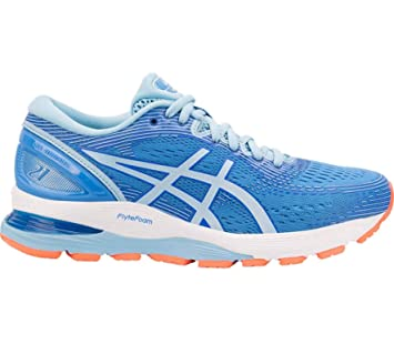ASICS Gel-Nimbus 21 Running Damen Blau F400: Amazon.de ...