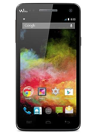 Wiko 9411 Rainbow 4g Lte Smartphone 5 Zoll Schwarz Amazonde