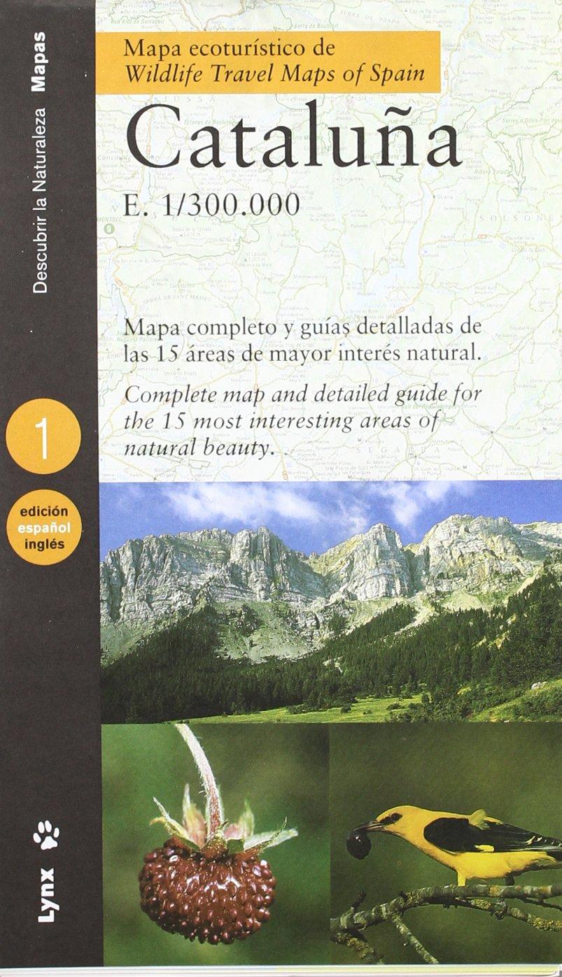 Wildlife Travel Map of Spain - Catalonia (Eco Tourist Maps): Antoni ...