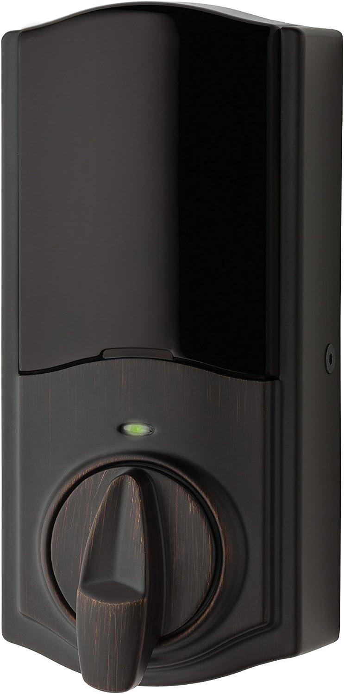Kwikset 99140-103 Convert Z-Wave Plus Lock with Home Connect, Venetian Bronze