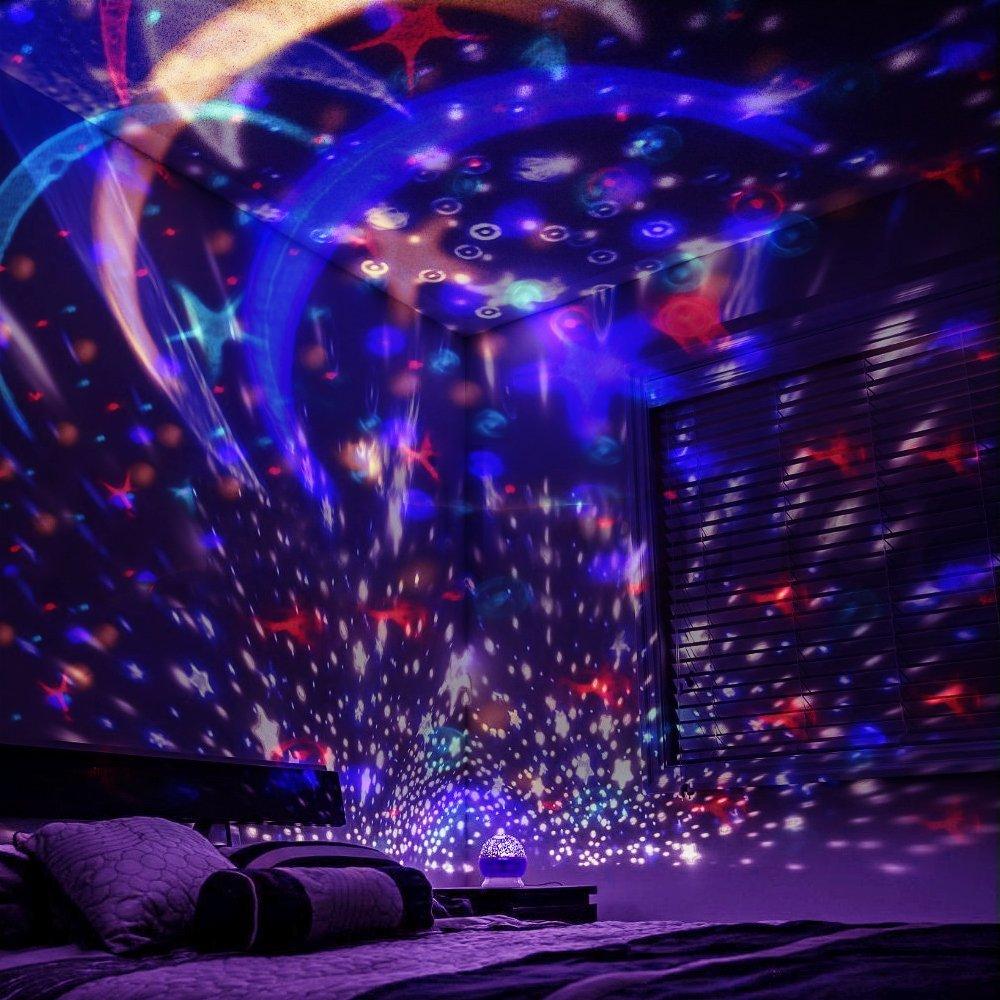 Sternenhimmel Projektor Omitium Led Nachtlicht Sternenprojektor 360