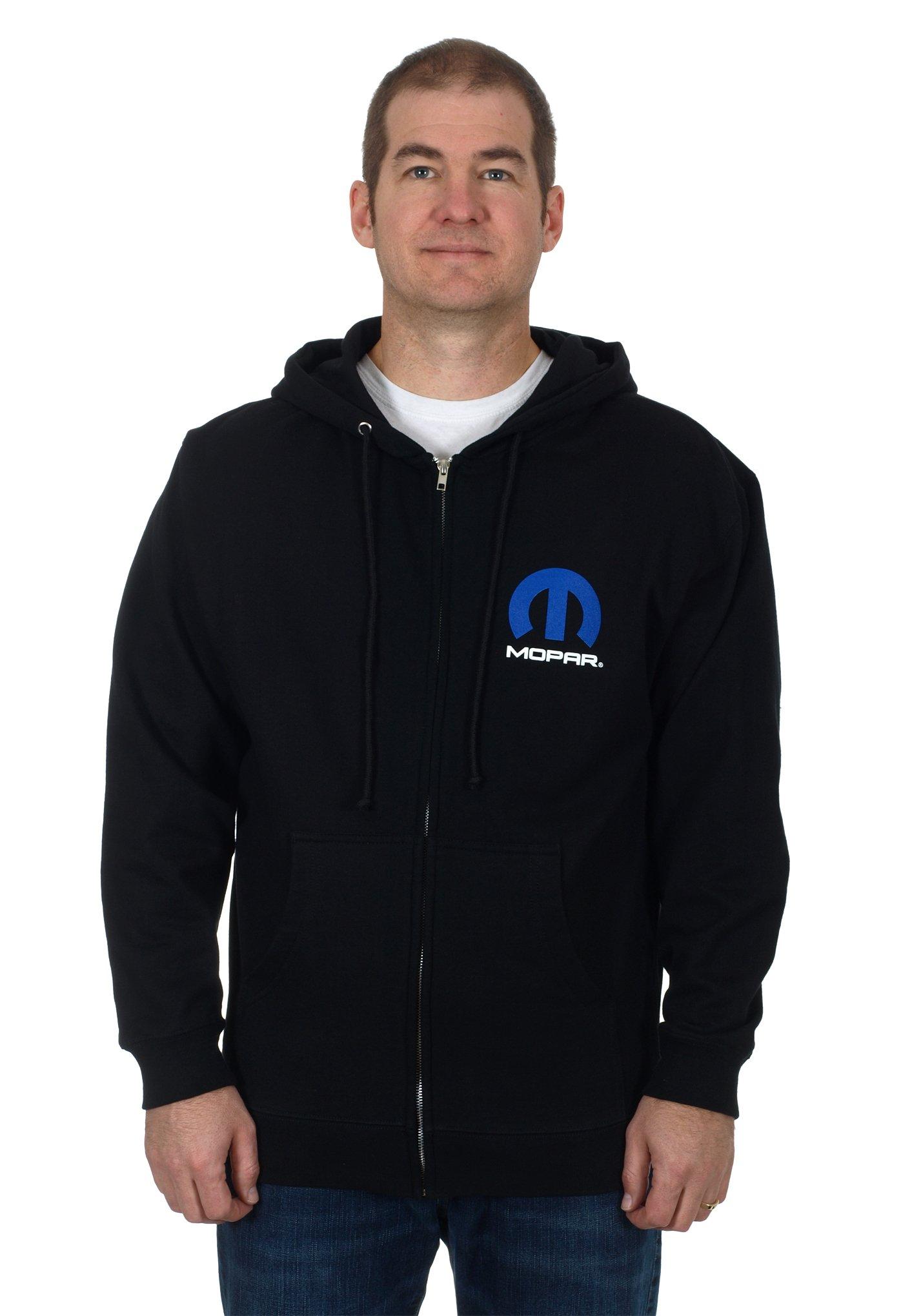 Mens MOPAR Zip Up Hoodie XL product image