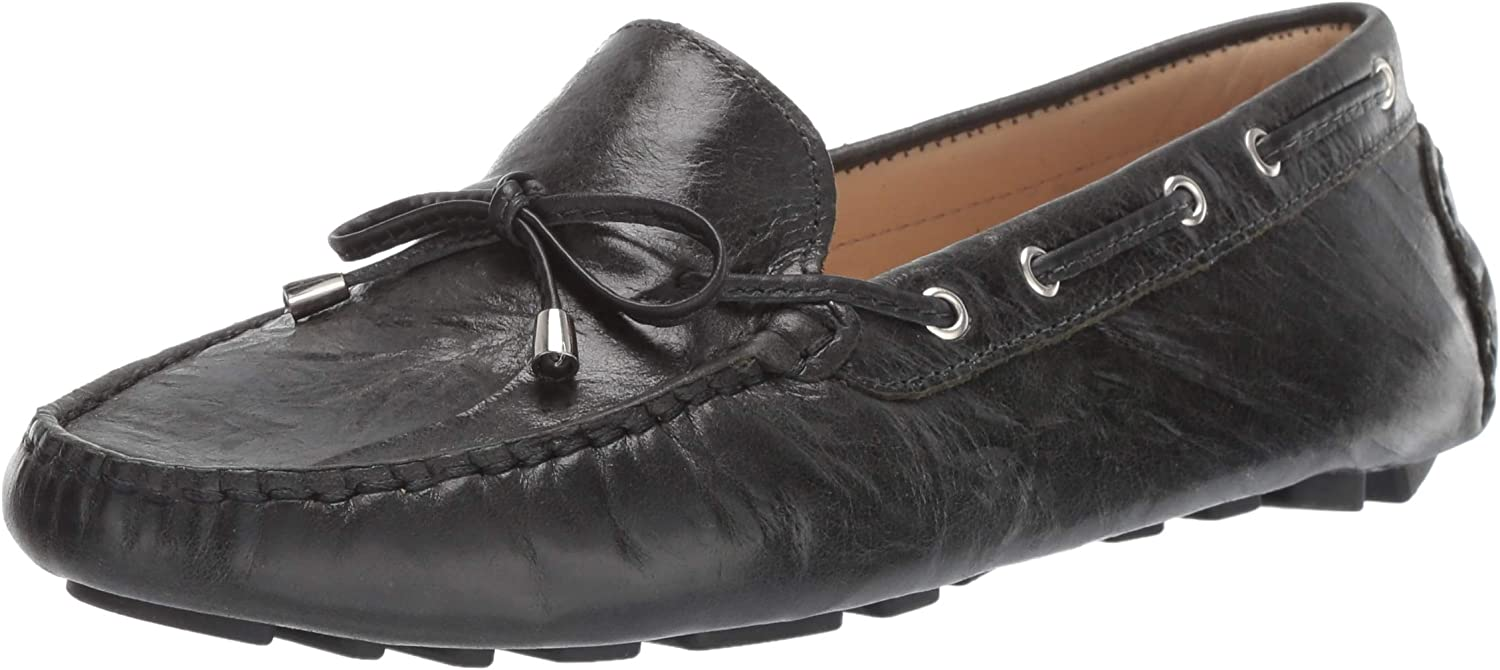 5% OFF Driver Club USA Women's Leather Limited time for free shipping Loafer Nantucket Driving Tie-Bow