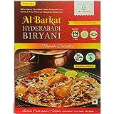 AL BARKAT Hyderabadi Chicken Biryani 285g - READY TO EAT - Packs of 2 (2 x 285g)