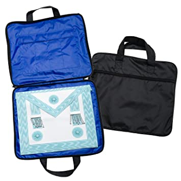 2cb80701cf Quality Lightweight MM WM Masonic Regalia Soft Case   Apron Holder ...