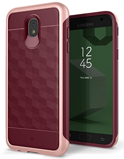 huge discount 0599f 19c1e Caseology Parallax for Samsung Galaxy J5 Pro Case (2017) - Award Winning  Design - Burgundy