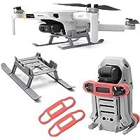 SENSKDN Protector de hélice y equipo de aterrizaje para DJI Mavic Mini/Mini 2 Drone Accesorios Set Fijador Soporte de…