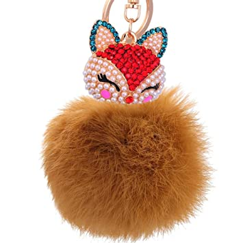 gum pom pom key ring in fur cheap prices 8c734 60251 - oumarnews.com fddd56f20
