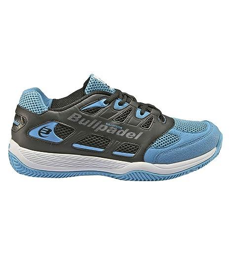 Bullpadel Burton, Zapatillas de Tenis para Niños, Azul 424, 33 EU ...