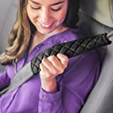 MIKAFEN 4 Pack Universal Car Seat Belt Pads, Adult