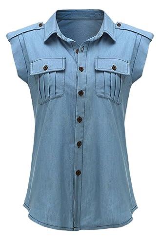 Elsa Steen - Camisas - Manga corta - para mujer