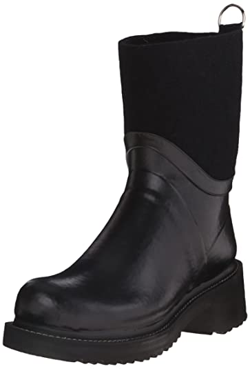 ILSE JACOBSEN Women's Rub 53 Rain Boot, Black, ...