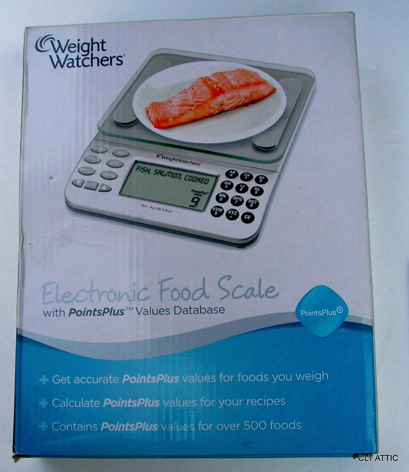 Amazon.com: Weight Watchers New Points Plus Electronic Food Scale Kitchen:  Digital Kitchen Scales: Kitchen & Dining