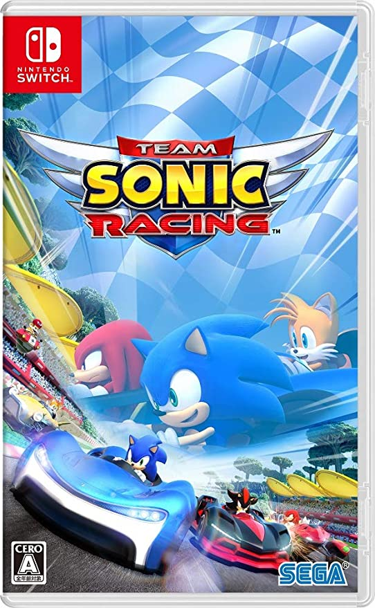 Sega Team Sonic Racing NINTENDO SWITCH REGION FREE JAPANESE ...