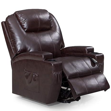 Cool Amazon Com Frivity Recliner Chair With Electric Power Frankydiablos Diy Chair Ideas Frankydiabloscom