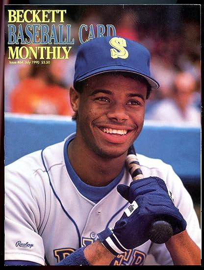 Beckett Baseball Card Monthly 64 July 1990 Ken Griffey Jr