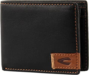CAMEL ACTIVE Black Leather Brand New Wallet Purse