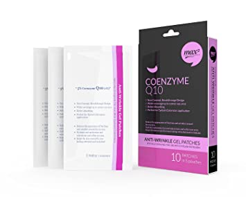 91765e2eab9 Amazon.com : MAX2 Coenzyme Q10 Under Eye Pads Patches QTY: 5 pairs Designed  for Eyelash Extension : Fake Eyelashes And Adhesives : Beauty