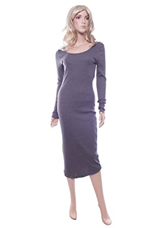7bc42f266183 New George Black or Grey Ribbed Casual Dress Size 8 10 Ladies Summer Frock  (10