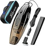 Hikeren Car Vacuum Cleaner,DC 12-Volt Wet&Dry Handheld Vacuum,16.4FT(5M)Power Cord One Carry Bag