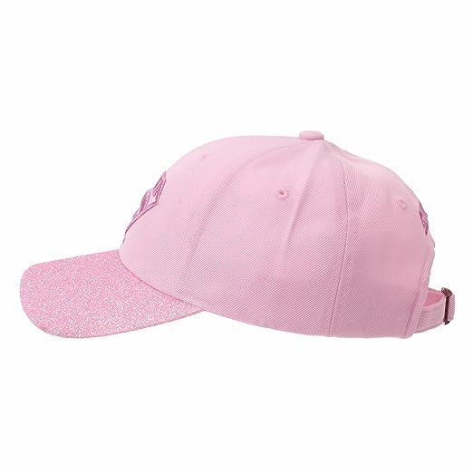 WITHMOONS Superman VS Batman Shield Glittering Brim Baseball Cap AC1832 ( Pink)  Amazon.co.uk  Clothing 1c46856628d4