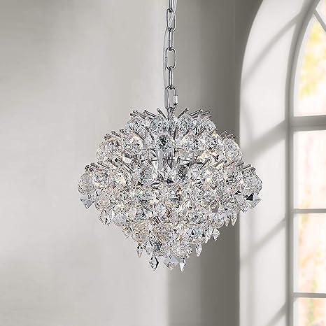 Colgante moderno Araña de cristal Gota de lluvia Iluminación ...