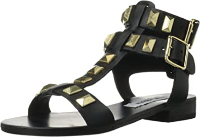 Perfeck Dress Sandal, Black/Gold, 5.5
